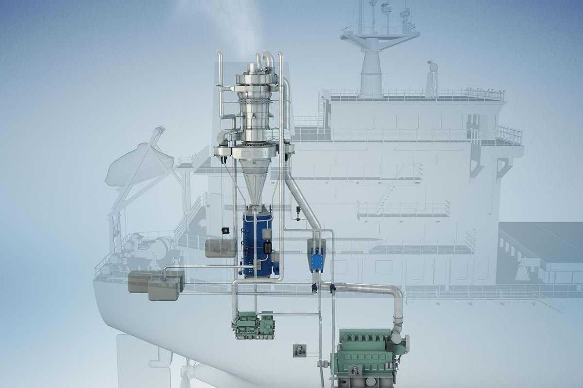Ship Scrubber System